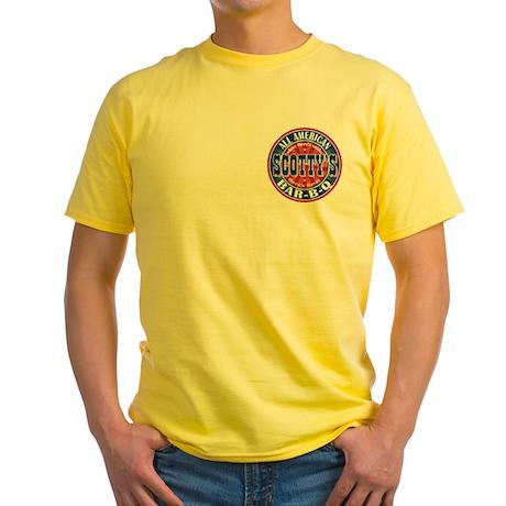 Scotty's All American BBQ Yellow T-Shirt