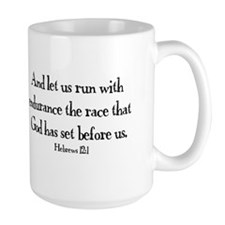 Hebrews Run Mug