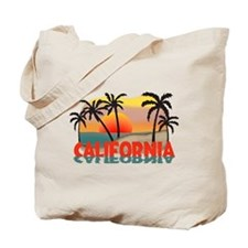 California Sunset Souvenir Tote Bag