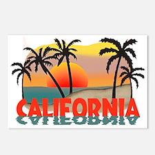 California Sunset Souvenir Postcards (Package of 8