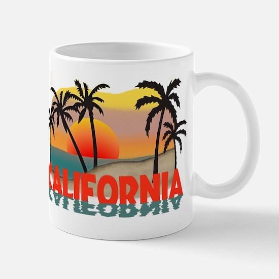 California Sunset Souvenir Mug