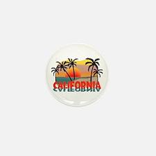 California Sunset Souvenir Mini Button (100 pack)