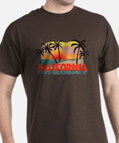 California Sunset Souvenir T-Shirt