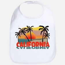 California Sunset Souvenir Bib