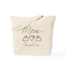 Proverbs 31 script mom Tote Bag