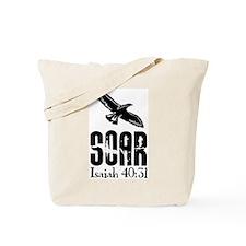 Isaiah 40:31 Soar Tote Bag