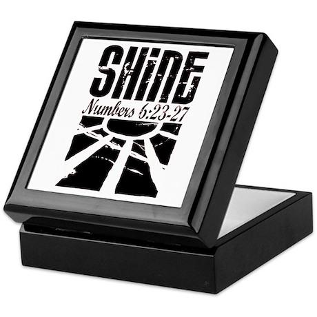 shine num 6:25 Keepsake Box