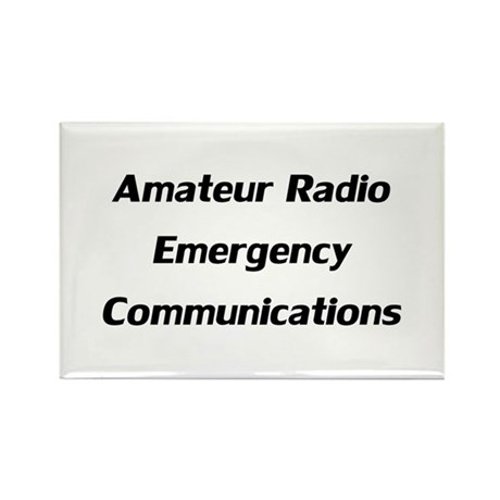Emergency Communications Rectangle Magnet