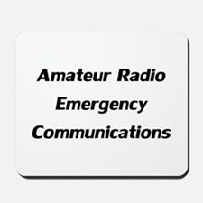 Emergency Communications Mousepad