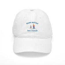 Mason and Dad - Best Friends Baseball Cap