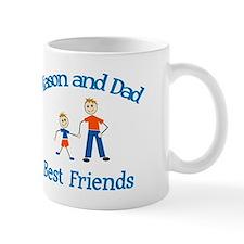 Mason and Dad - Best Friends Mug
