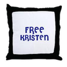 Free Kristen Throw Pillow