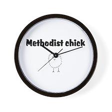 Methodist Chick Wall Clock