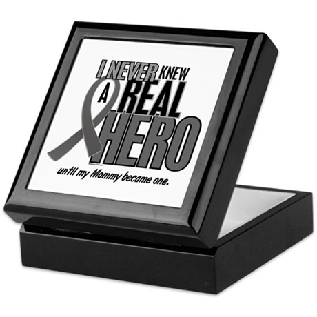 Never Knew A Hero 2 Grey (Mommy) Keepsake Box