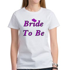 Bride To Be Simply Love Tee