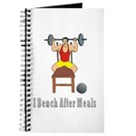 I Bench After Meals Journal