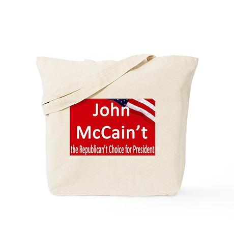 John McCain't Tote Bag