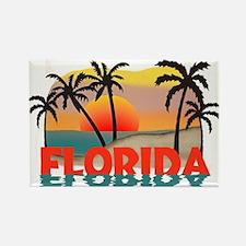 Florida Sunrise Souvenir Rectangle Magnet