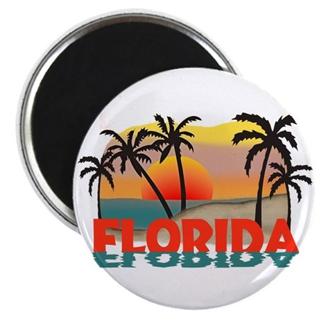 Florida Sunrise Souvenir Magnet