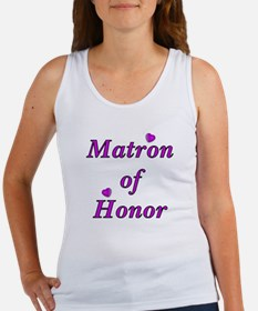 Matron of Honor Simply Love Women's Tank Top