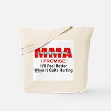 MMA MIXED MARTIAL ARTS Tote Bag