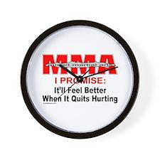 MMA MIXED MARTIAL ARTS Wall Clock