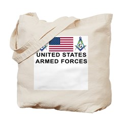 Masonic Armed Forces Tote Bag