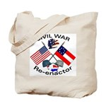 Non Masonic Civil War Re-enactors Tote Bag