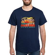 Malibu Beach California Souvenir T-Shirt