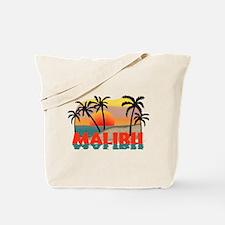 Malibu Beach California Souvenir Tote Bag