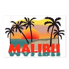 Malibu Beach California Souvenir Postcards (Packag
