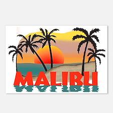 Malibu Beach California Souvenir Postcards (Packag