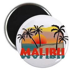 Malibu Beach California Souvenir Magnet