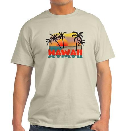 Hawaiian / Hawaii Souvenir Light T-Shirt