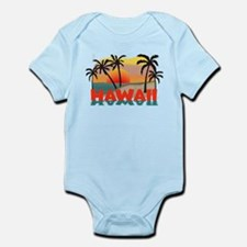 Hawaiian / Hawaii Souvenir Infant Bodysuit