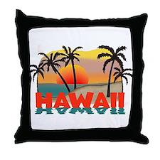 Hawaiian / Hawaii Souvenir Throw Pillow