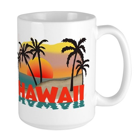 Hawaiian / Hawaii Souvenir Large Mug