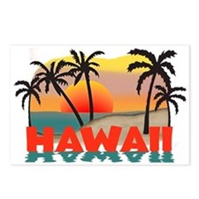 Hawaiian / Hawaii Souvenir Postcards (Package of 8