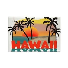 Hawaiian / Hawaii Souvenir Rectangle Magnet