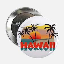 "Hawaiian / Hawaii Souvenir 2.25"" Button"