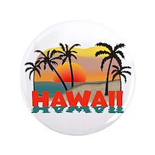 "Hawaiian / Hawaii Souvenir 3.5"" Button"
