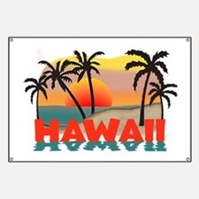 Hawaiian / Hawaii Souvenir Banner