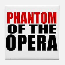 Phantom of the Opera Tile Coaster