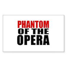 Phantom of the Opera Rectangle Decal