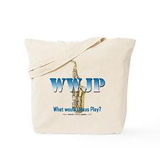 WWJP - Saxophone Tote Bag