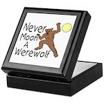 Moon A Werewolf Keepsake Box