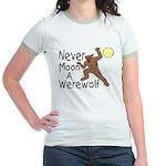 Moon A Werewolf Jr. Ringer T-Shirt