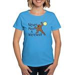 Moon A Werewolf Women's Dark T-Shirt