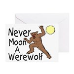 Moon A Werewolf Greeting Cards (Pk of 10)