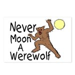 Moon A Werewolf Postcards (Package of 8)